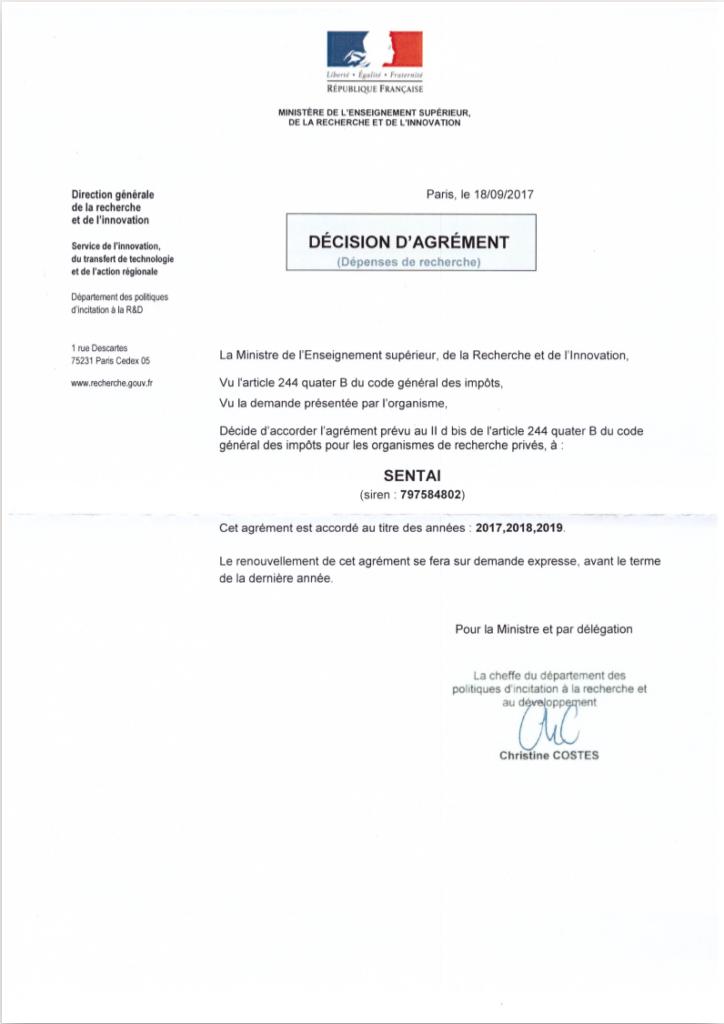 Research Certification - SenTai.eu